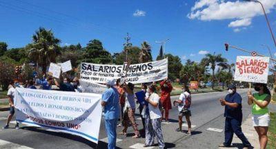 Trabajadores de salud del Hospital Sayago denunciaron despidos en plena pandemia de Covid-19