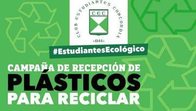 Estudiantes prepara una campaña ecológica de reciclado