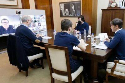 Kicillof convocó a una urgente reunión con intendentes por la pandemia en la costa