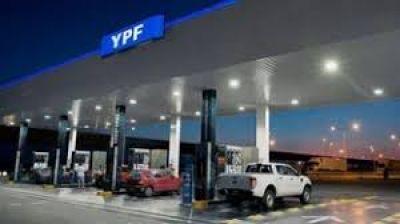 YPF aumenta en un 2,9% las naftas y el gasoil desde este martes