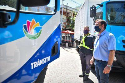 Ariel Sujarchuk presentó nueva maquinaria adquirida por el Municipio para obras y mantenimiento de la infraestructura pública