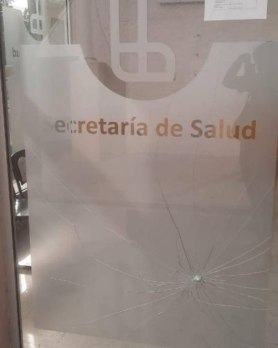 El Municipio repudió los actos de vandalismo en el Centro de Atención Sanitaria de Gerli Este