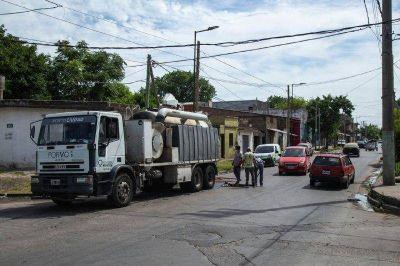 El Municipio de Quilmes continua con las tareas de limpieza y erradicación de basurales