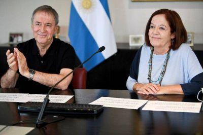 Schiaretti inauguró obras de urbanización en barrio Comunidad Renó
