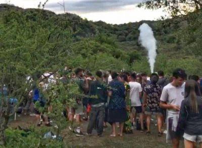 Desbaratan una fiesta clandestina que duró tres días en Cuesta Blanca