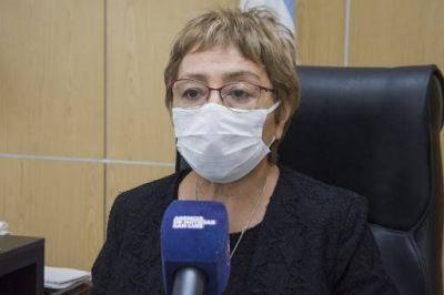 """Rosa Dávila: """"Le pedimos a la población que se hisope y mantenga los cuidados porque la pandemia no pasó"""""""