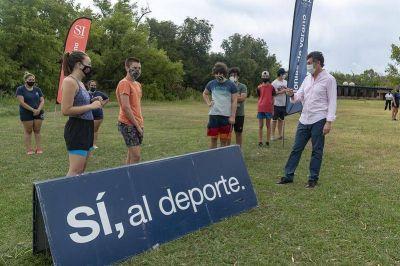 San Isidro: comenzaron las escuelas deportivas y recreativas de Verano