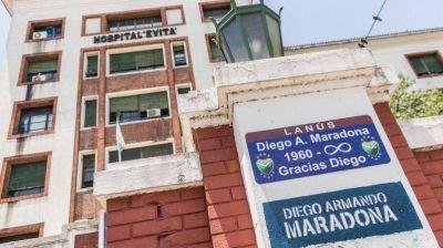 Diego Maradona ya tiene su calle en Lanús