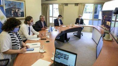 Como en La Pampa: Fernández les propuso a los gobernadores restringir la circulación durante la madrugada
