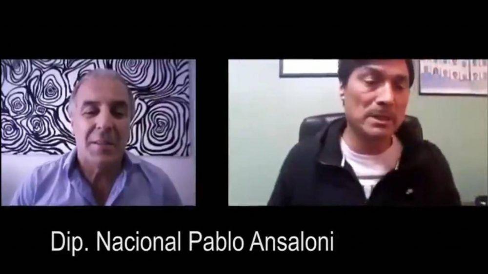 #GremiNazis El comentario antisemita de Pablo Ansaloni por la interna de la Uatre
