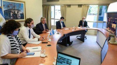 Covid: Alberto Fernández acordó con gobernadores límites a la circulación nocturna