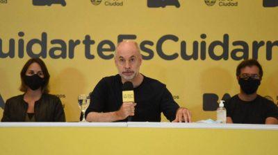 Horacio Rodríguez Larreta cenó con Martín Yeza y Cristian Ritondo antes de dar positivo de coronavirus