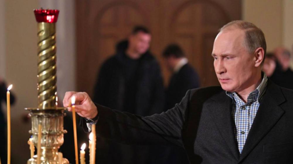 Rusia: Por la Navidad ortodoxa, Putin saluda a sus compatriotas