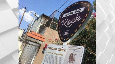 """Tres de Febrero: homenajean a referente del metal argentino con una estación de """"La Ruta del Rock"""""""