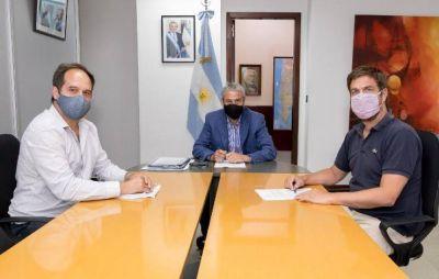 Ustarroz firmó con Ferraresi la adhesión a Casa Propia