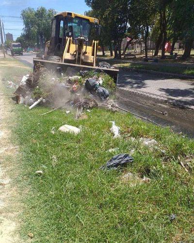 Continúa el trabajo de higiene urbana