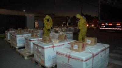 Llegó el segundo cargamento de Sputnik V a Córdoba y se retoma la vacunación