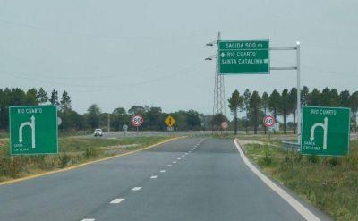 Se reinició la obra de la autovía Río Cuarto – Holmberg