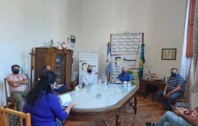 Zara mantuvo una reunión con la Comisión de Fomento de Villa Morando