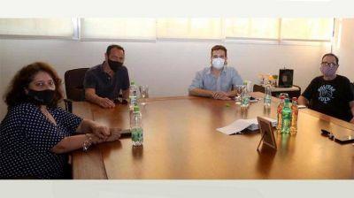 Importante reunión entre la Cooperativa Eléctrica y el Círculo Médico de Bolívar