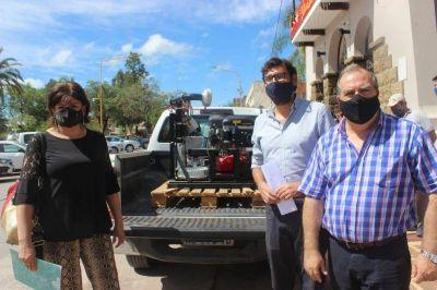 GIRSU. Entrega de equipamiento para la gestión de residuos en el contexto de la emergencia por COVID y Dengue