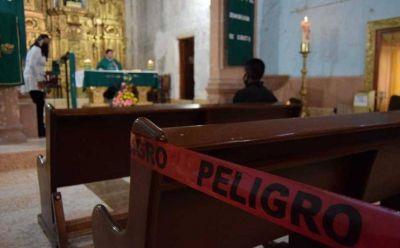 Suspenden misas en municipios con semáforo rojo de la región Tula