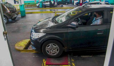 En la primera semana de enero pasaron 800 autos por día en la VTV