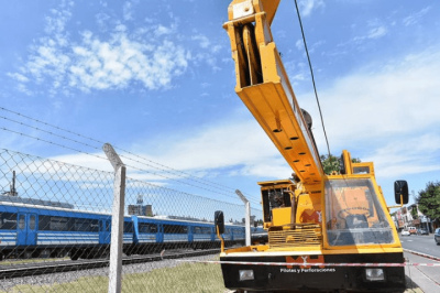 Merlo | Comenzaron las obras del nuevo puente en la estación San Antonio de Padua