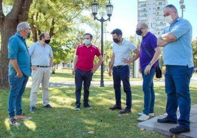 El intendente Abella se reunió con los integrantes de