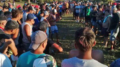 Desactivaron un torneo de bochas en el que participaron más de 500 personas