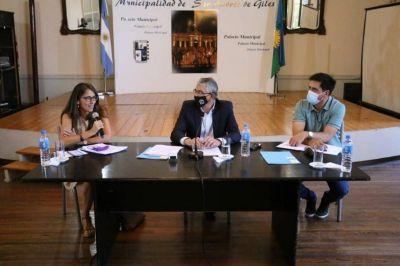 Los intendentes de San Andrés de Giles y Carmen de Areco firmaron convenios con la ministra Gómez Alcorta