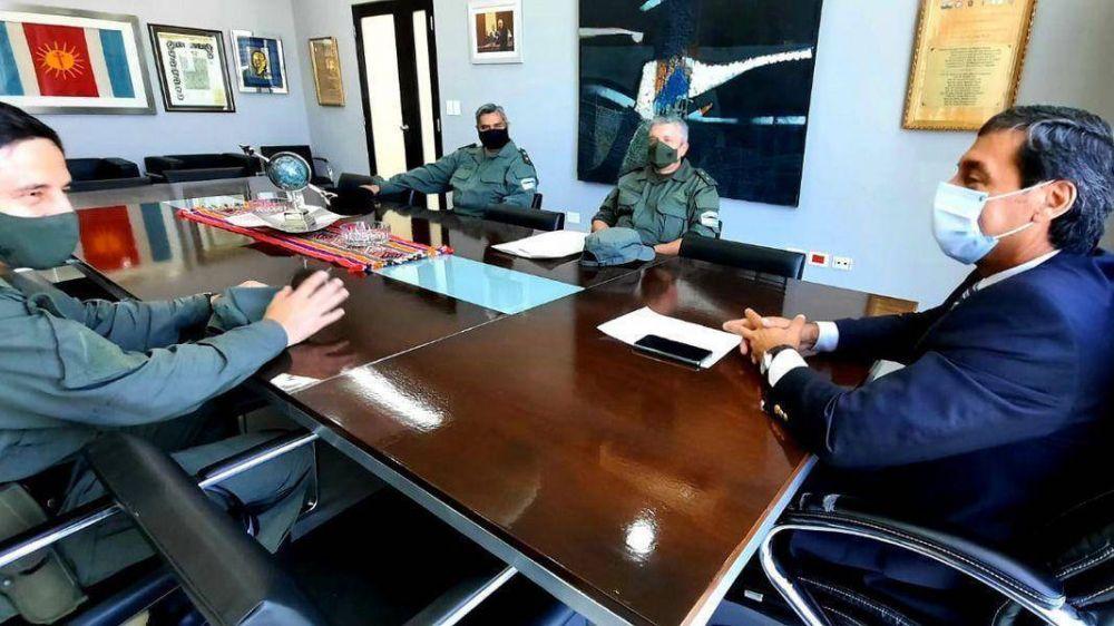 Silva Neder recibió a autoridades regionales y locales de Gendarmería Nacional Argentina