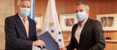 El canciller Solá recibió al embajador Urribarri para avanzar en la agenda bilateral con Israel