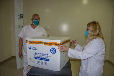 Llegaron las vacunas contra el coronavirus a José C. Paz