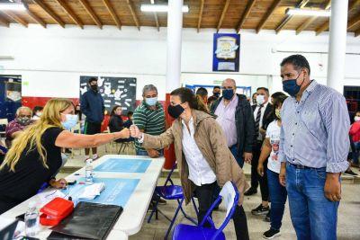"""Verónica Sabena encabezó el operativo del programa """"Mi Registro Mi Barrio"""""""