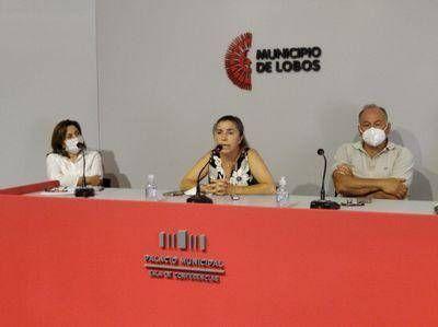Conferencia de prensa del municipio a raíz de las declaraciones del Dr. Mulassi