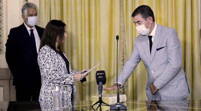 Jorge Fernández asumió en el Superior Tribunal de Justicia