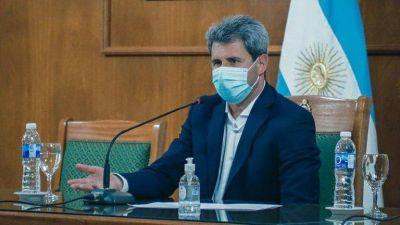 """Uñac, tras la vuelta a sus funciones: """"Quiero agradecer a los sanjuaninos por el acompañamiento"""""""