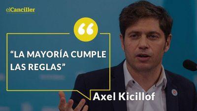 """""""La mayoría de los turistas cumple las reglas"""" y """"la campaña antivacunas fracasó"""": las ocho definiciones de Kicillof sobre los contagios"""