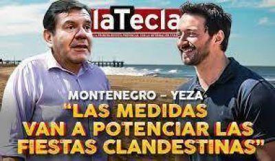 Yeza y Montenegro contra las restricciones: