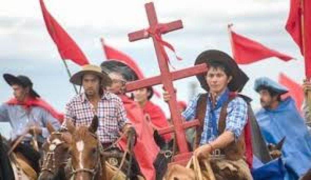 Mons. Canecín animó a la esperanza a los devotos de la Cruz Gil