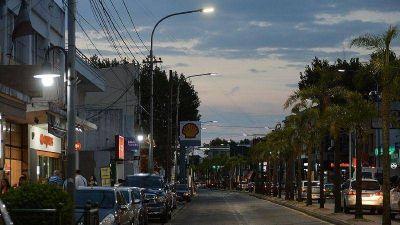 Con inversión municipal, Tigre conectó más de 2800 luminarias en diversos puntos de la ciudad durante el 2020