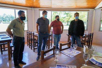 Jorge Macri junto a Javier Iguacel visitaron a emprendedores en Cap. Sarmiento