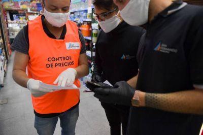 San Fernando reforzó control de Precios Máximos en comercios