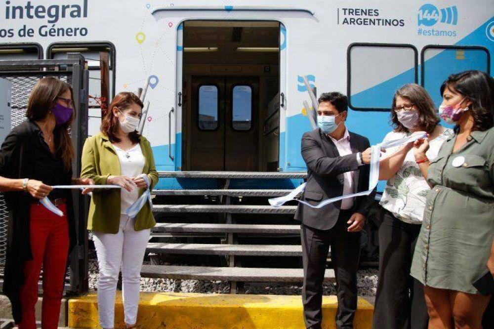 Inauguran en Moreno la primera dependencia para asistir a las víctimas de violencia de género