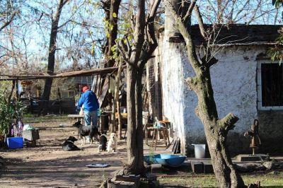 Proyecto en barrios populares de Luján