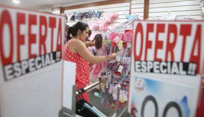 En diciembre, las ventas minoristas bajaron un 11,07% según el Cecis