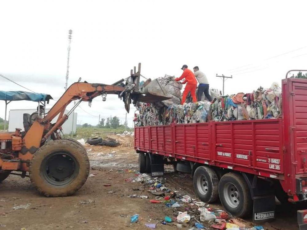Reciclaron seis toneladas de residuos en la planta de Concordia que serán comercializados