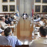Ante el aumento de casos de covid en Entre Ríos, Gustavo Bordet reunió a su gabinete