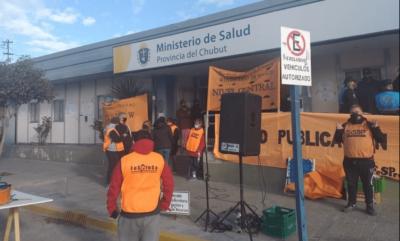 Chubut: Trabajadores de la Salud advierten que irán a paro